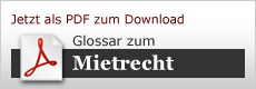 Download: Glossar Mietrecht